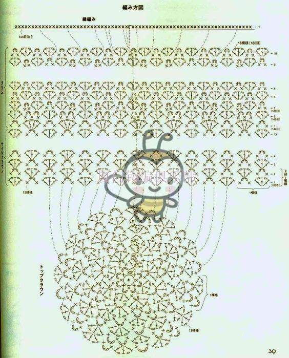 связать крючком по схемам-болеро (564x700, 312Kb)
