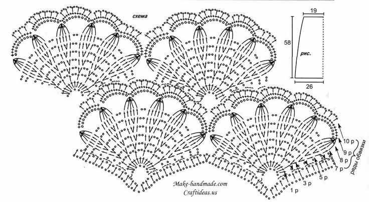 crochet beauty lace for dress