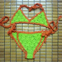 crochet baby bikini for beach