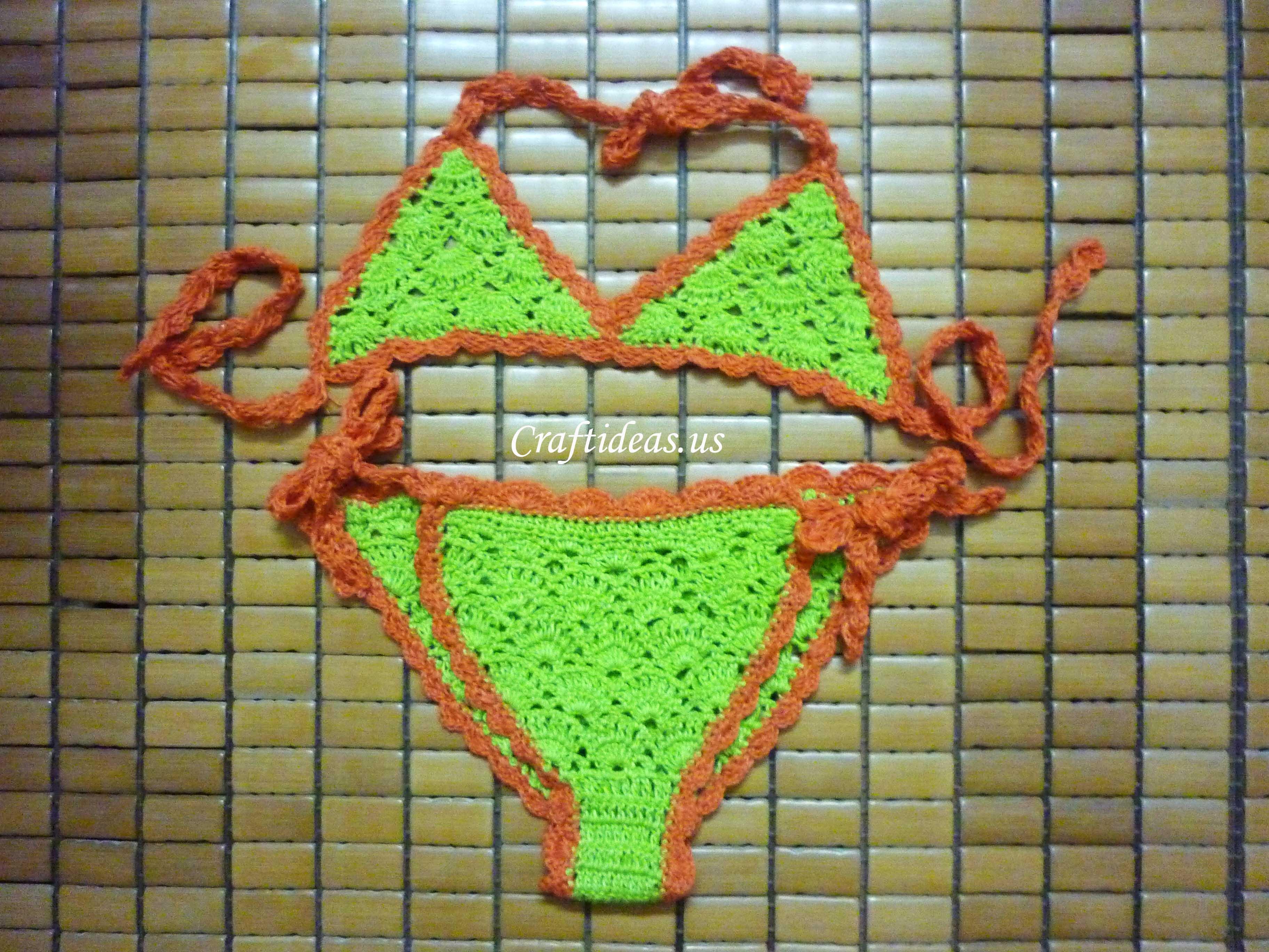 crochet bikini for little girls
