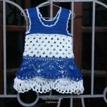 crochet baby dress for summer