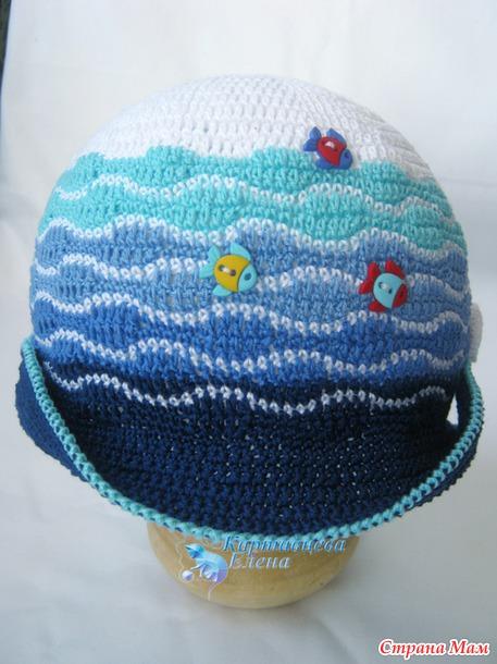 Crochet Baby Marine Hat Pattern : crochet marine hat for baby make handmade, crochet, craft
