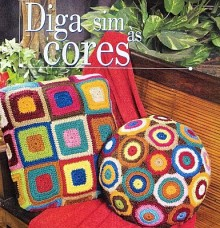 crochet pillows with squares and circles