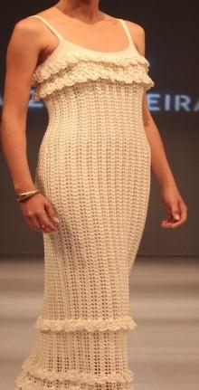crochet simple evening dress pattern