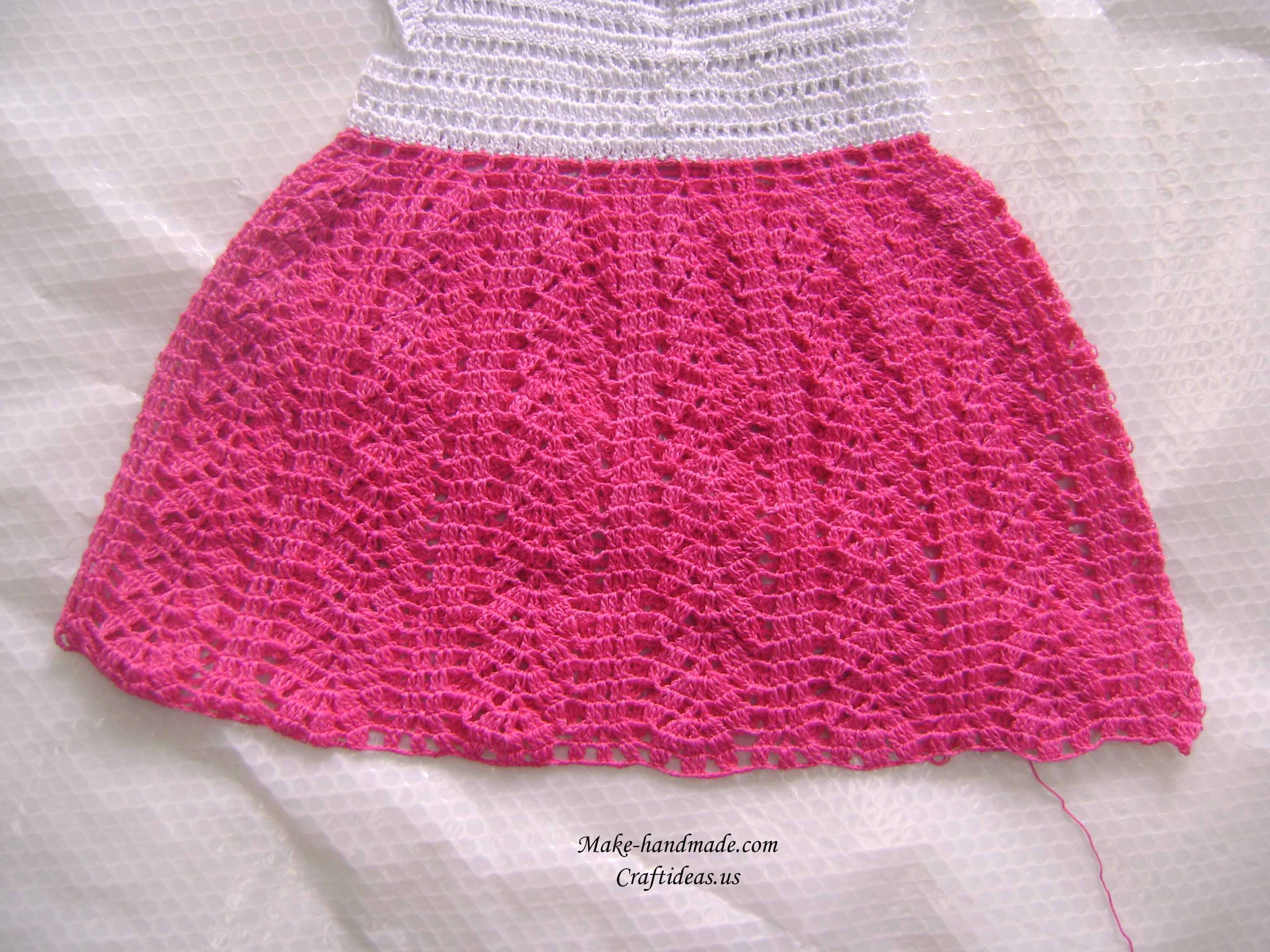 crochet summer baby dress make handmade, crochet, craft