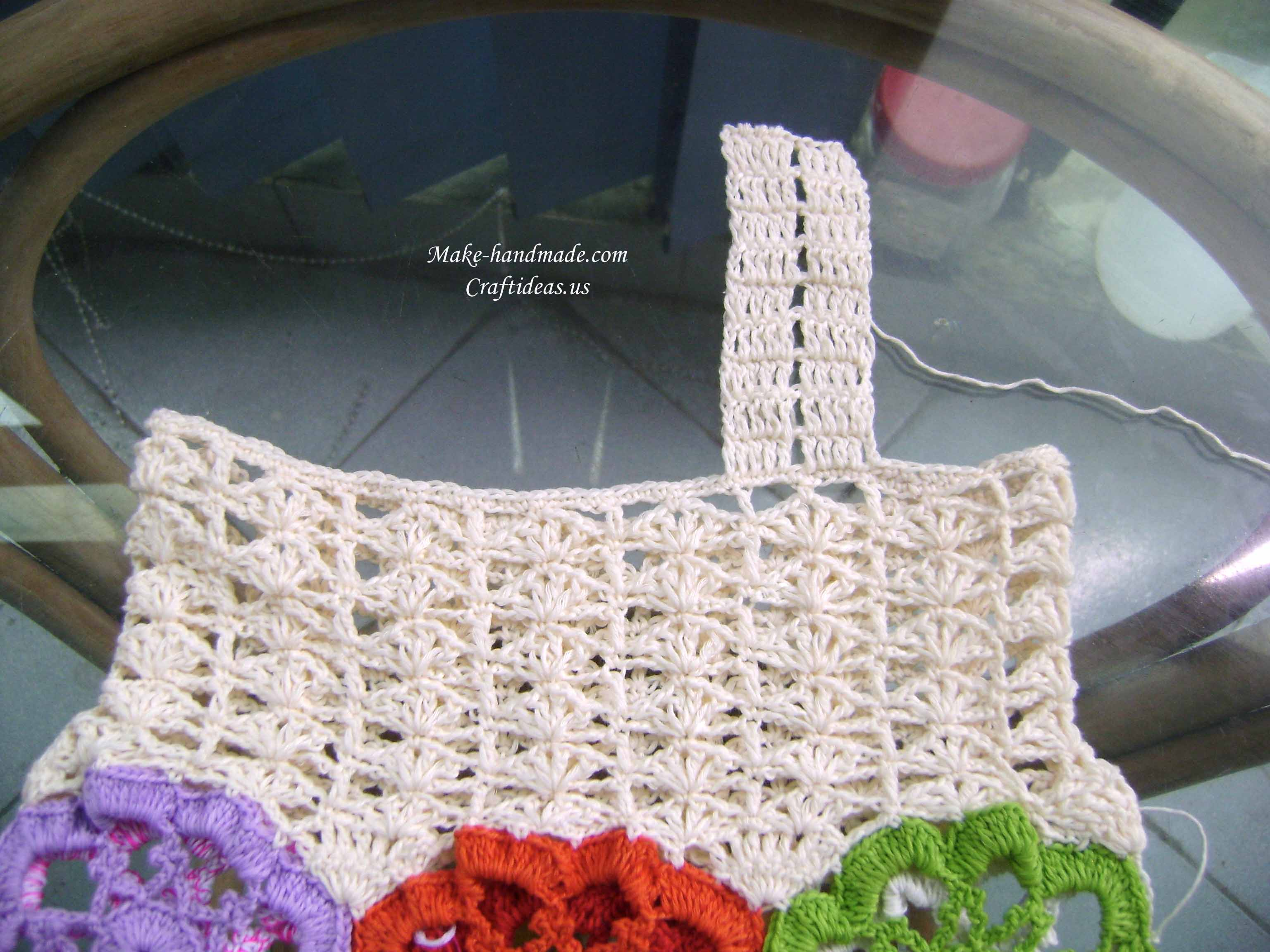 crochet traps for baby dress