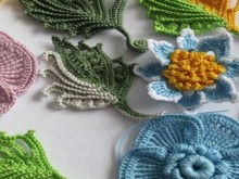 crochet so beauty fall leaves