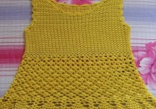 crochet beaty summer top