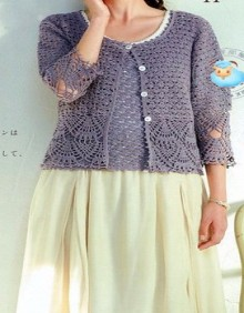 crochet beautiful summer vest and cardigan