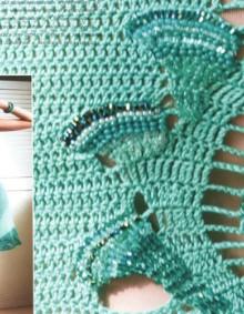 crochet charming dress for girl