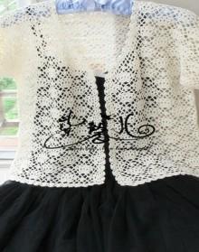 crochet charming lace summer cardigan