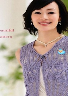 crochet charming summer cardigan and vest