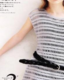 crochet charming summer dress