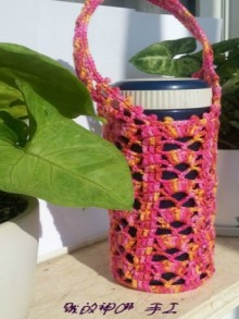 crochet corver for water bottles