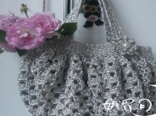 crochet cute and easy purse for girl