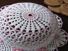 crochet cute baby summer hat