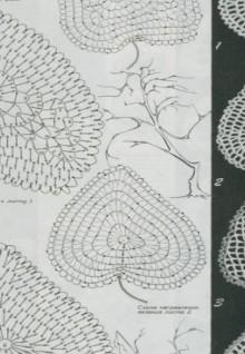 crochet fall leaves for irish fashion part 1