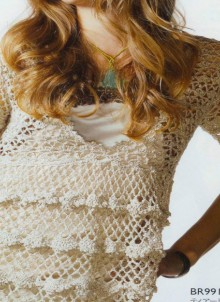 crochet lace and more ruffled tunic and dress