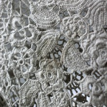 crochet so pretty lace vietnam traditional dress