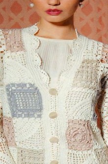 crochet lace jacket and vest