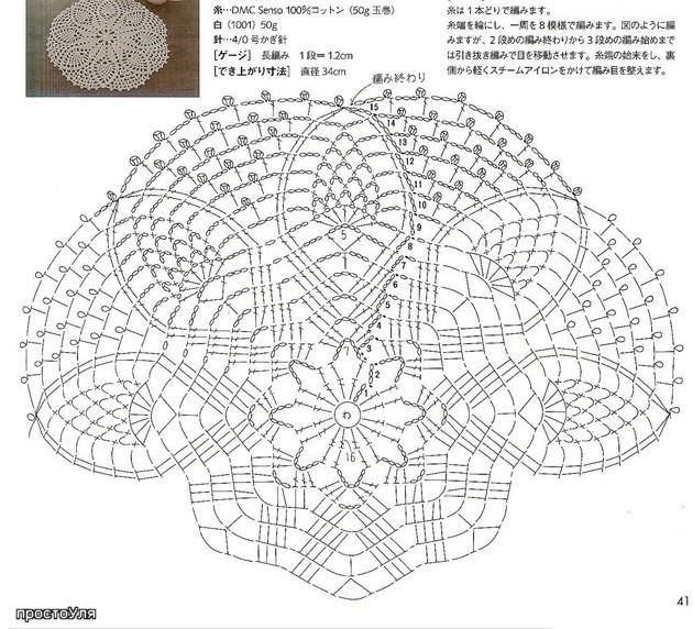 Вязание крючком берет схемы и описание