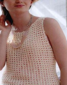 crochet lace top for summer