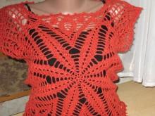crochet lace tunic for summer
