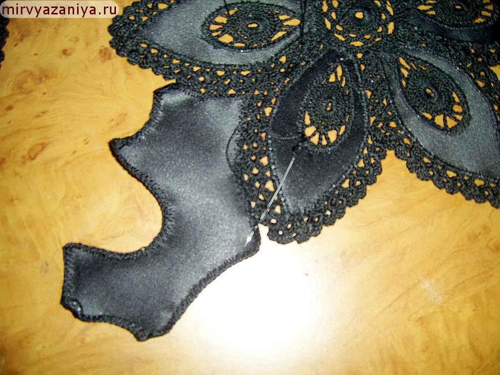 Юбки вязаные плюс ткань