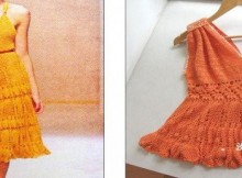crochet model summer top and dresss