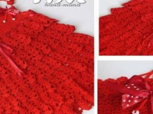 crochet more layers baby dress and skirt
