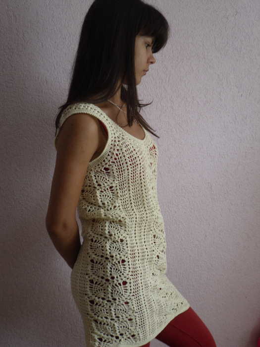 Crochet So Beauty Summer Dress For Girl Make Handmade