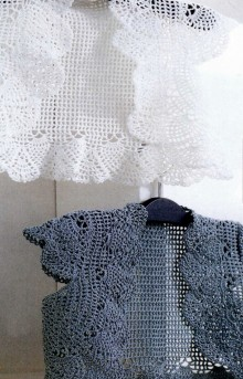 crochet so beauty vest and cardigan for kids