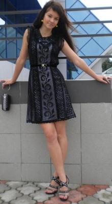 crochet so charming ladies dress