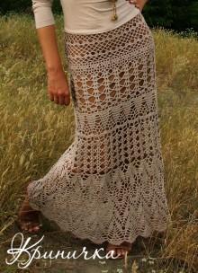 crochet so pretty lace skirt for summer