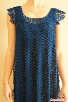 crochet summer dress and cardigan