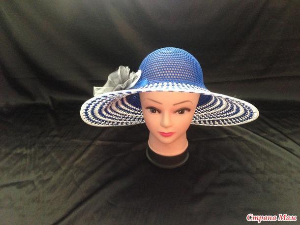 Украшение на пляжную шляпу своими руками