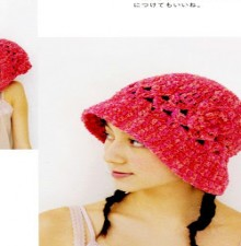 crochet summer hat idea