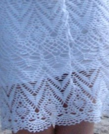 crochet summer skirt for beach