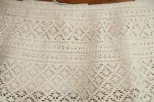 crochet summer skirt