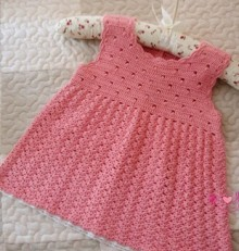 crochet sundress for little girl
