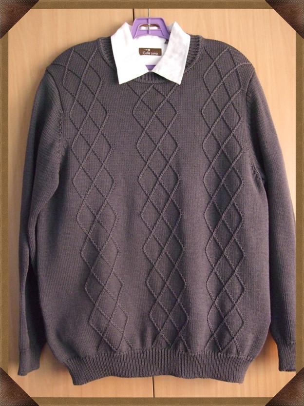 简单的针法织男士衣衫 - 金不换的日志 - 网易博客 - 云飞扬 - 云飞扬的天空