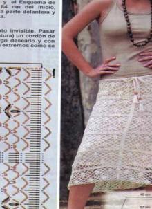 more ideas to crochet summer skirts for girl