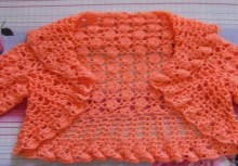 crochet vest and bolero for girl