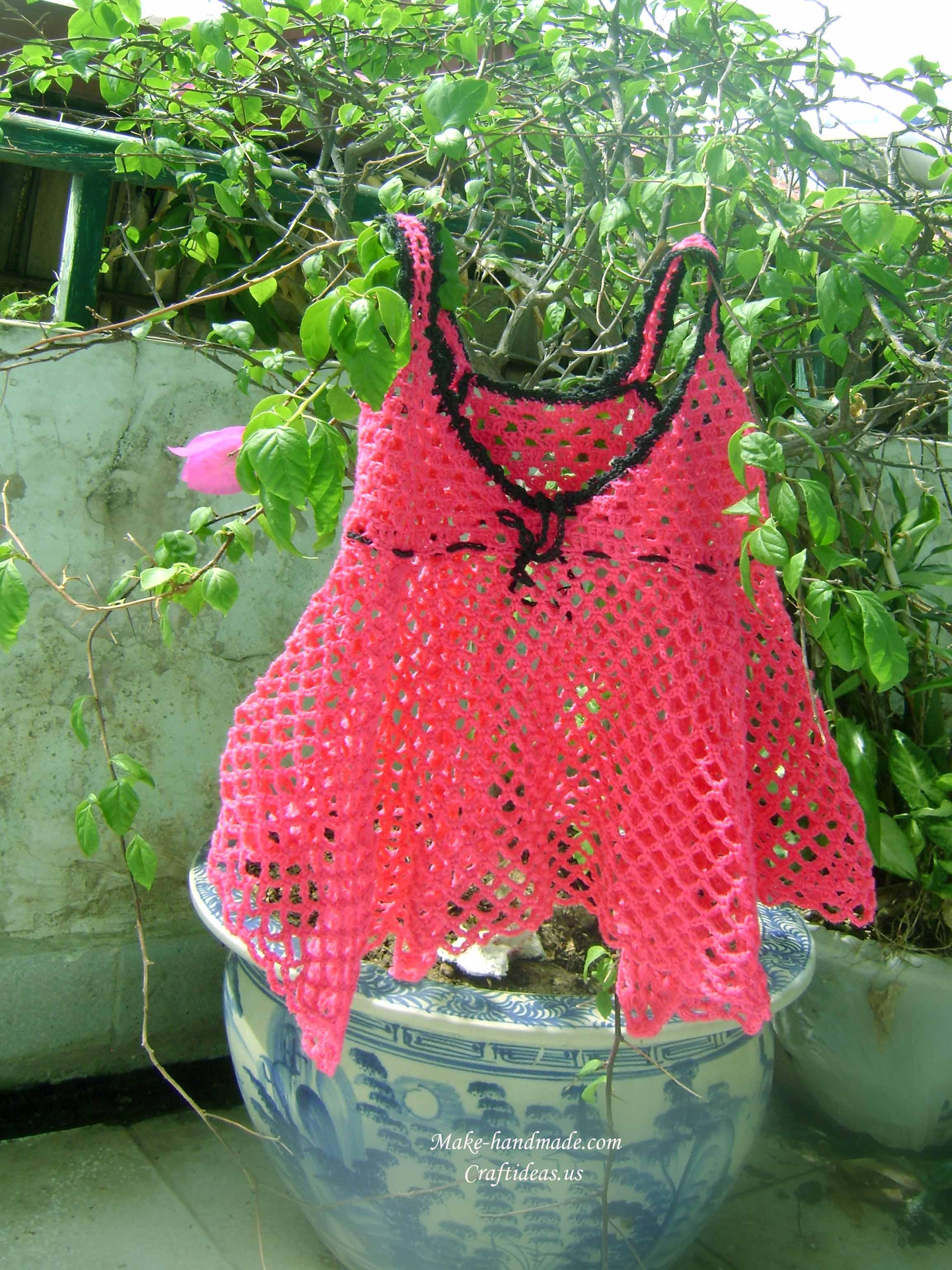 crochet baby top