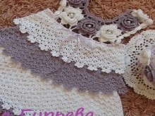 crochet beauty baby dress