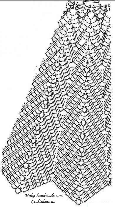 Crochet Lace Patterns Diagram : crochet beauty lace summer dress for beach make handmade ...