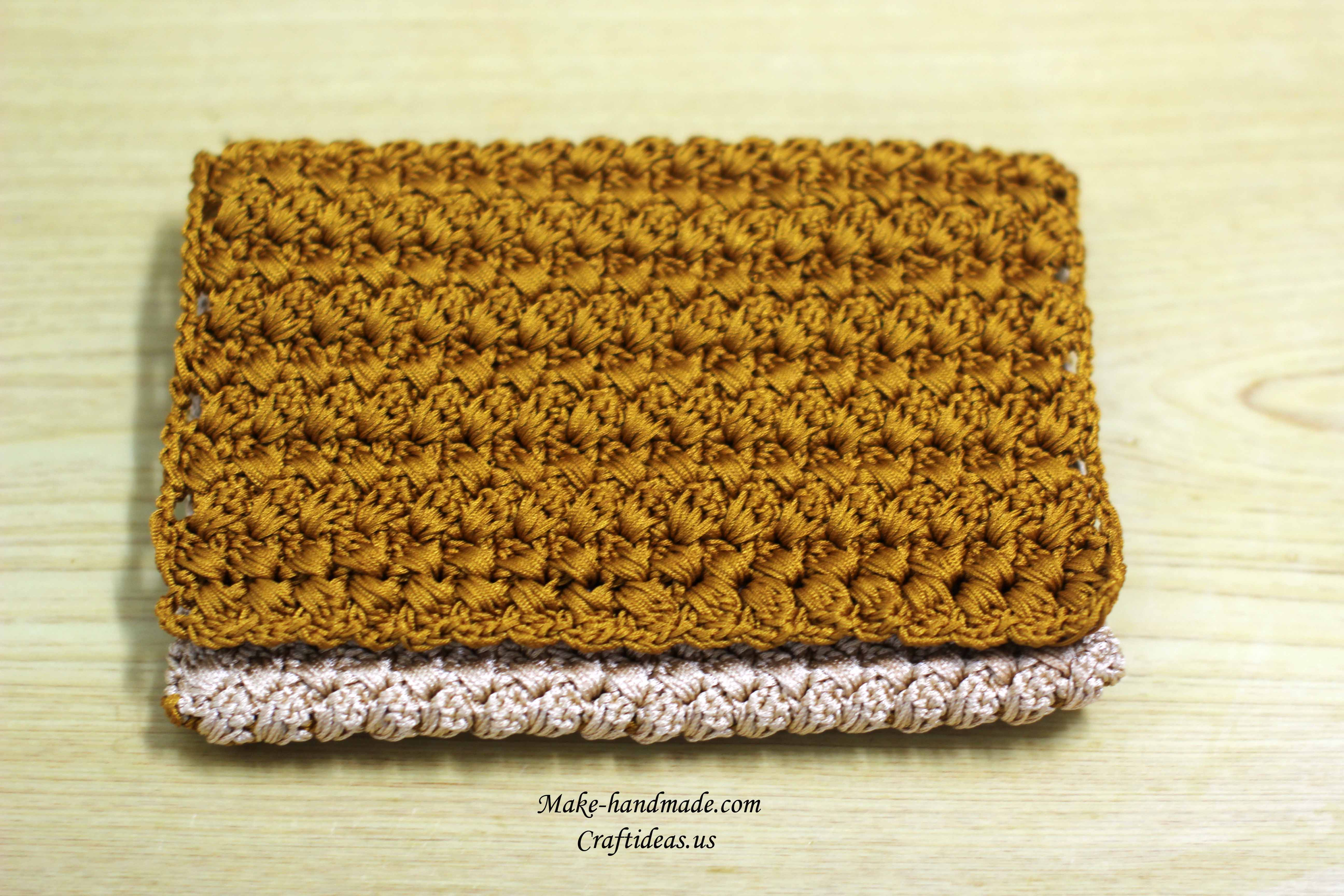 crochet handmade cute purse