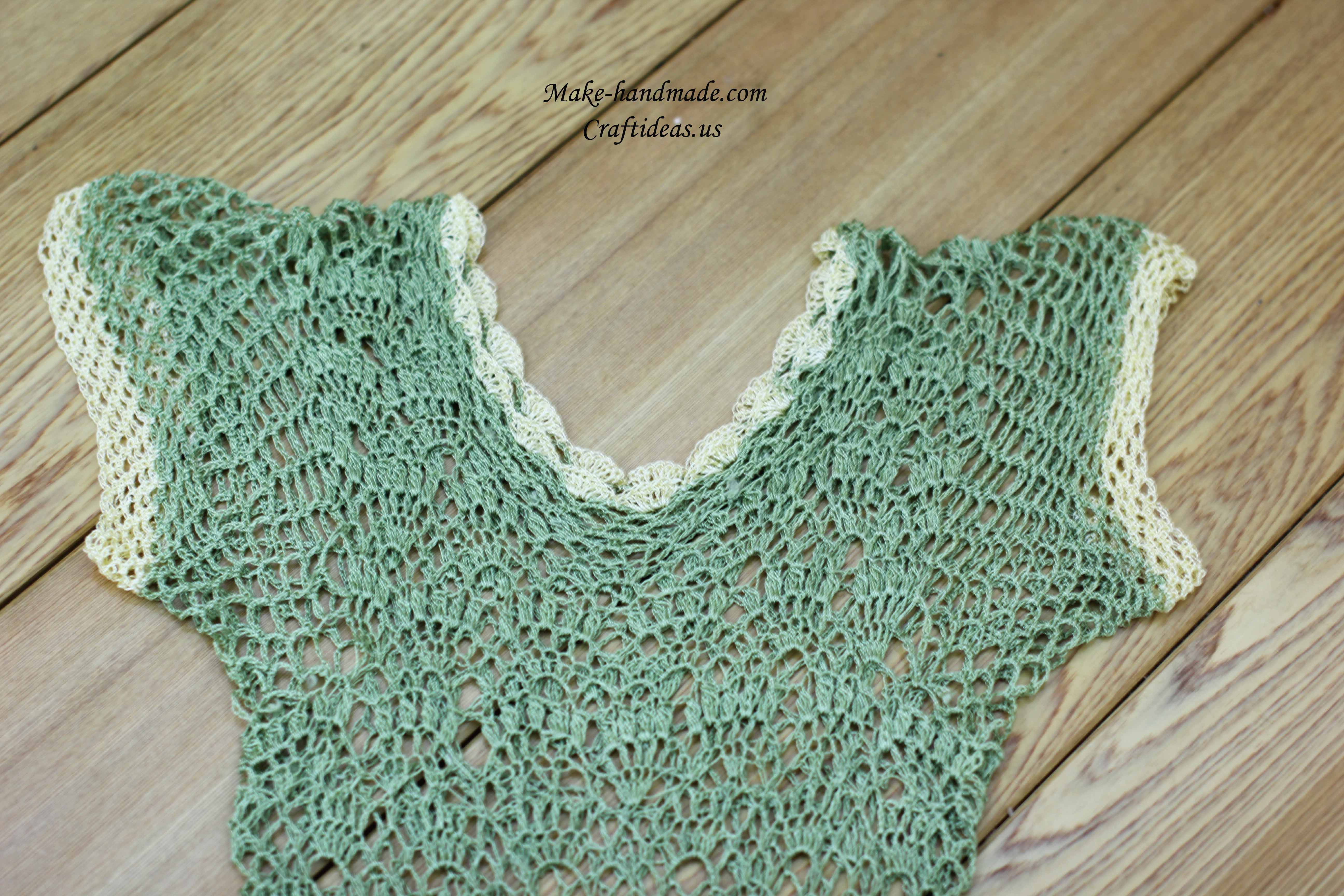 crochet lace dress for beach
