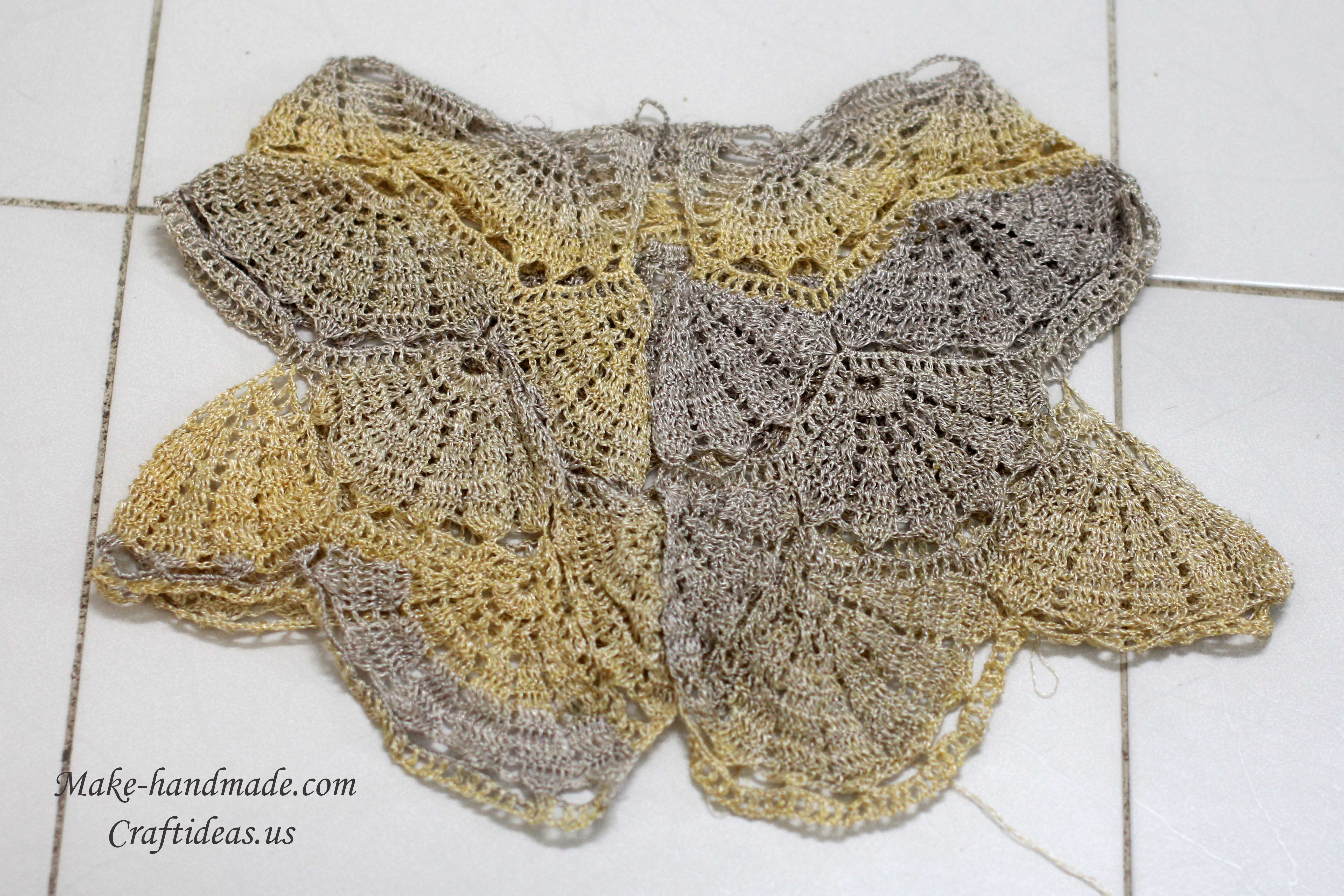 crochet lace summer bolero