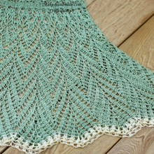 crochet beauty lace summer dress for beach
